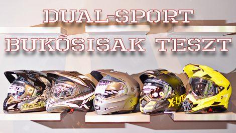 dual-sport sisakteszt 2014
