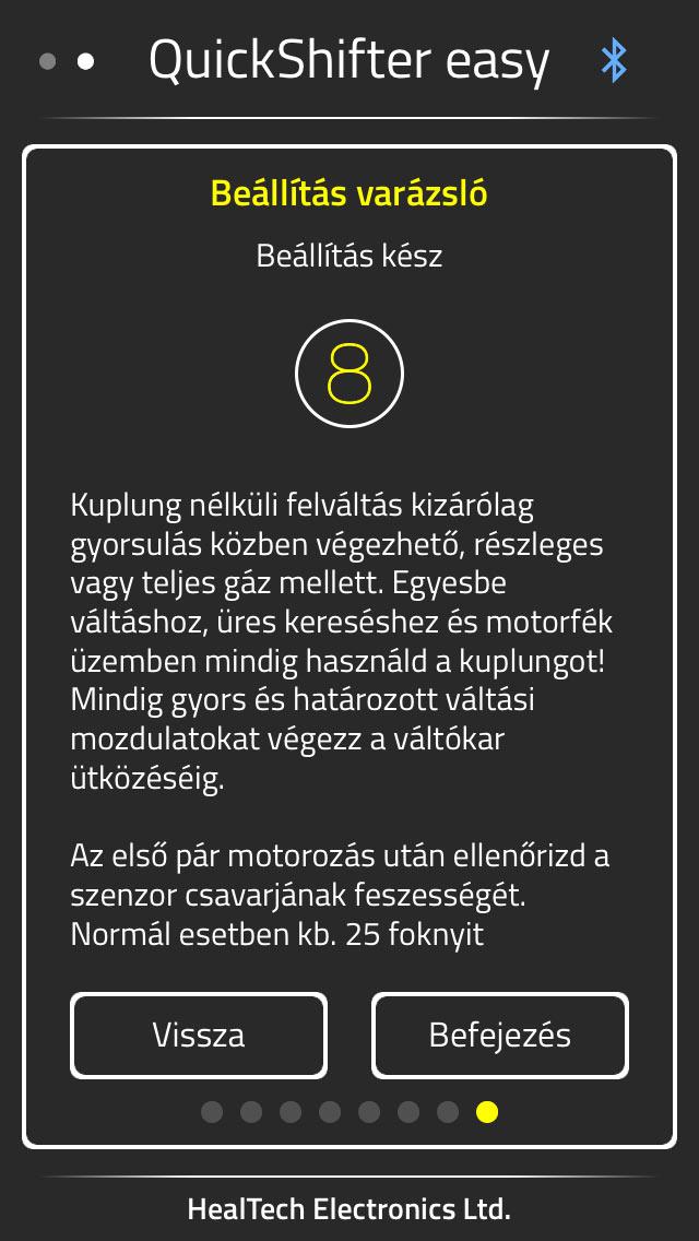 Heal Tech iQSE - a magyar gyorsváltó elektronika