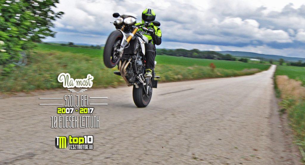 Triumph Speed Triple teszt