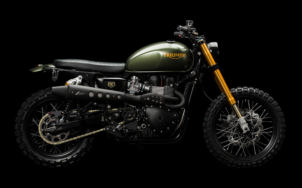 triumph scrambler hunter