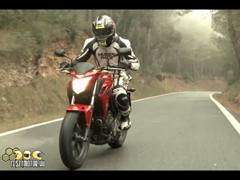 Honda CB500F menetpróba