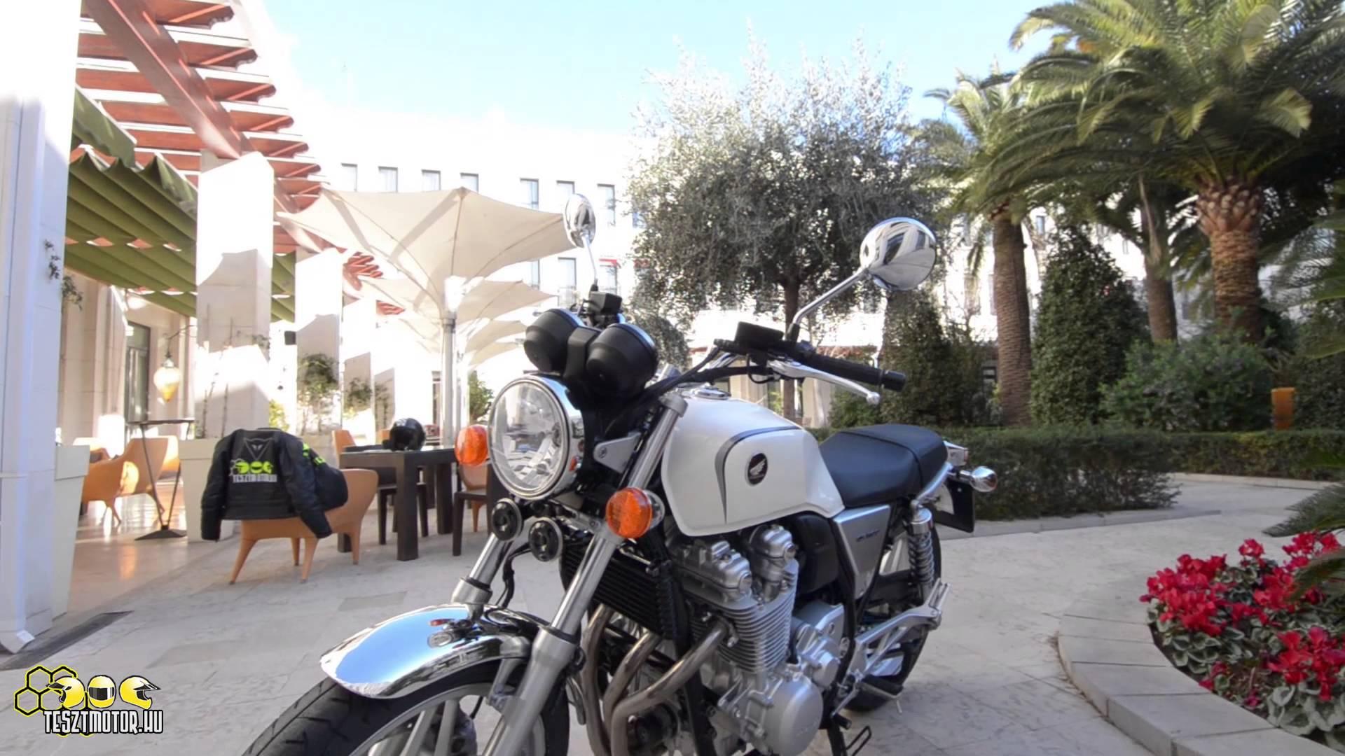 """BenZso Honda CB1100-as teszten készült """"nyálcsorgatós"""" videója"""