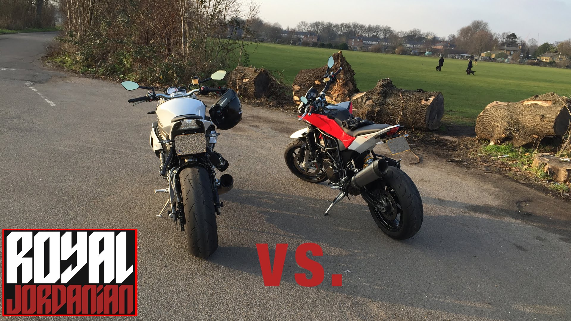 Husqvarna Nuda 900R vs. BMW S1000Rs - Rev Battle
