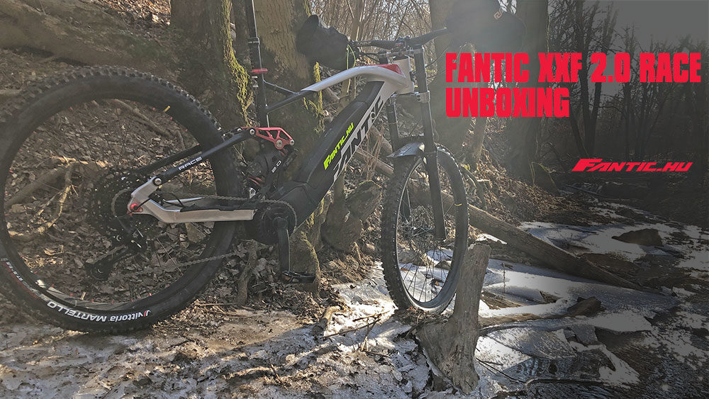 FANTIC XXF 2.0 RACE ROCK SHOX futóművel